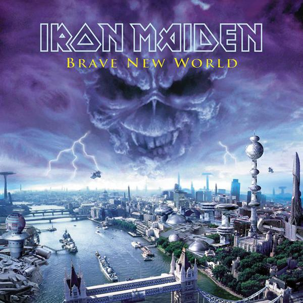 IRON MAIDEN, brave new world cover