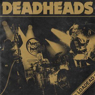 Cover DEADHEADS, loadead