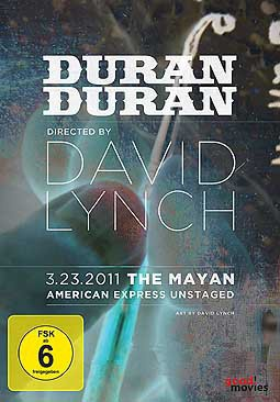DAVID LYNCH, duran duran - unstaged cover