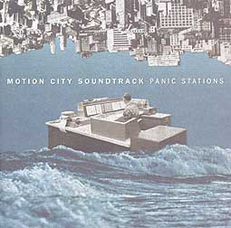 Cover MOTION CITY SOUNDTRACK, panic stations