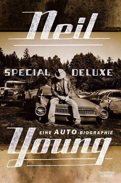 NEIL YOUNG, eine auto-biographie cover