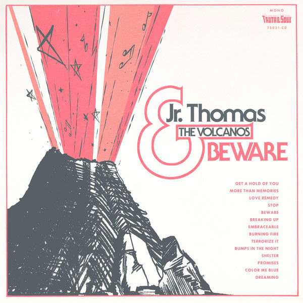 JR. THOMAS & THE VOLCANOS, beware cover