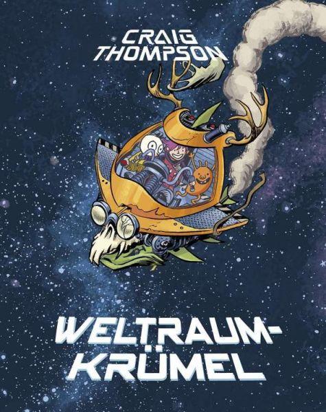 CRAIG THOMPSON, weltraumkrümel (Vorzugsausgabe) cover