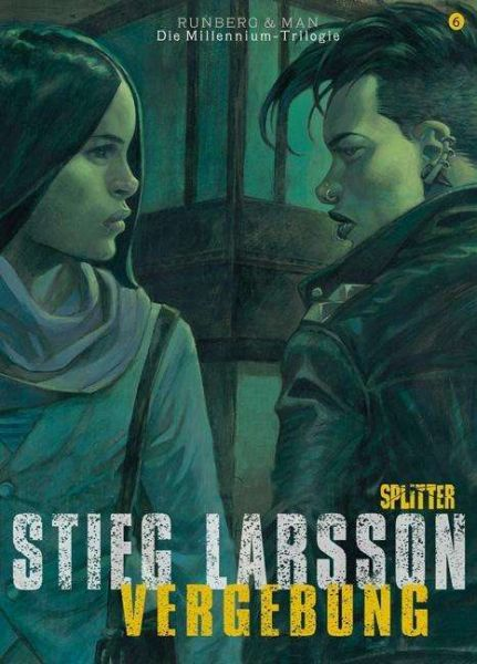 STIEG LARSSON/SYLVAIN RUNBERG/JOSÉ HOMS, millenium triologie - vergebung 02 cover