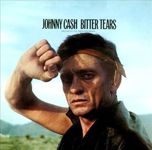 Cover JOHNNY CASH, bitter tears
