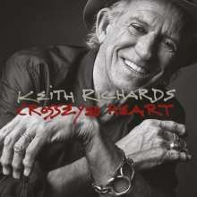Cover KEITH RICHARDS, crosseyed heart