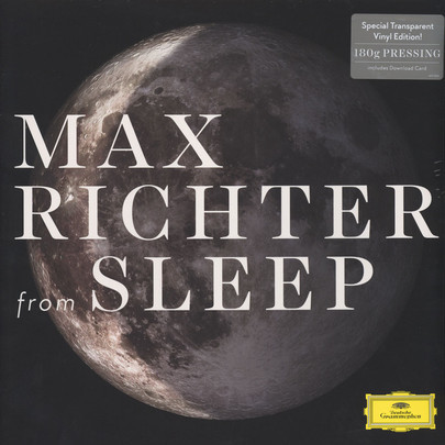 Cover MAX RICHTER/GRACE DAVIDSON/ACME, from sleep