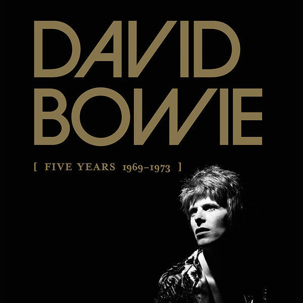 Cover DAVID BOWIE, five years (1969-1973)