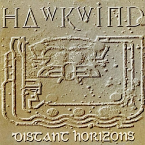 Cover HAWKWIND, distant horizons
