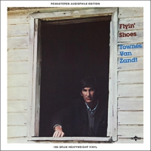 Cover TOWNES VAN ZANDT, flyin´ shoes