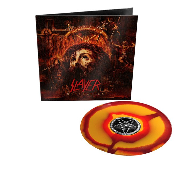 SLAYER, repentless (orange-red corona) cover
