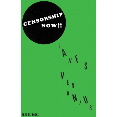 IAN SVENONIUS, censorship now! cover