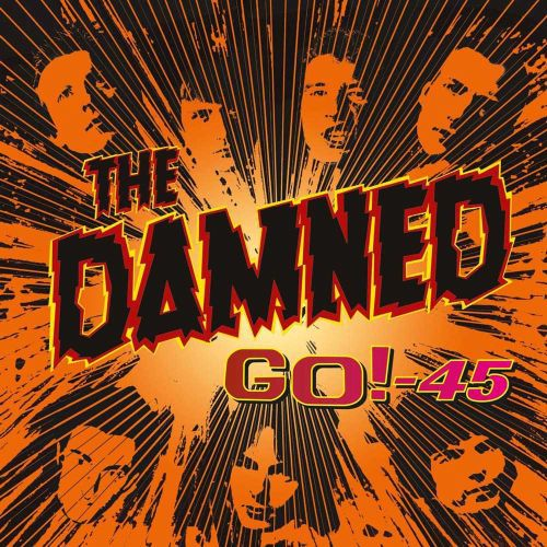 DAMNED, go! - 45 cover