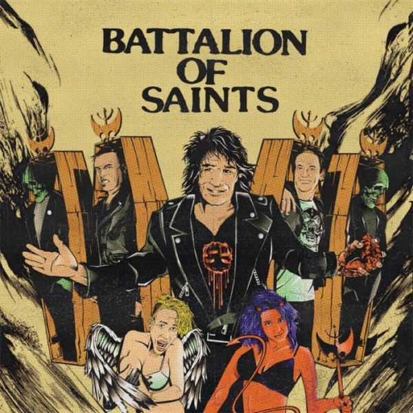 BATTALION OF SAINTS, s/t cover