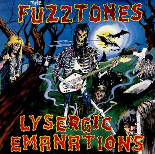 Cover FUZZTONES, lysergic emanations (us cover)