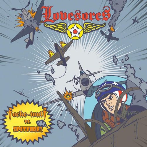 Cover LOVESORES, focke wulf vs. spitfire
