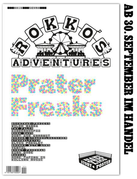 Cover ROKKO´S ADVENTURES, # 16