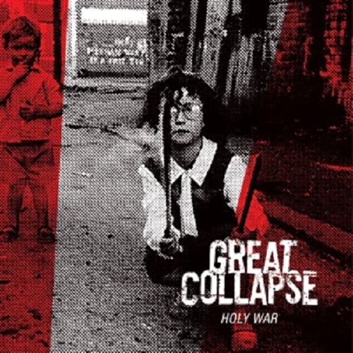 Cover GREAT COLLAPSE, holy war (white)