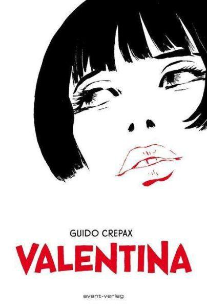 GUIDO CREPAX, valentina cover
