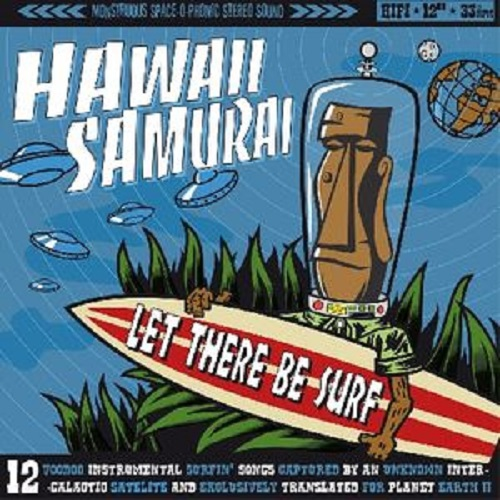 Cover HAWAII SAMURAI, let there be surf