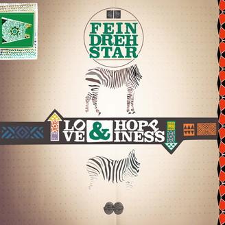 FEINDREHSTAR, love & hoppiness cover