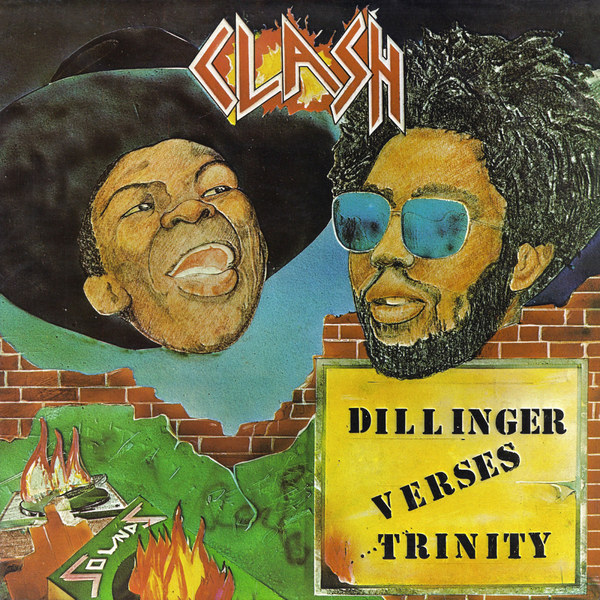 Cover DILLINGER VERSES TRINITY, clash