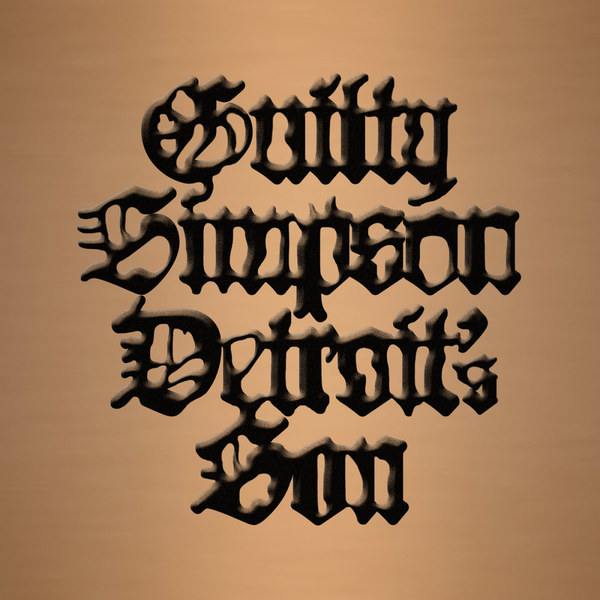 Cover GUILTY SIMPSON, detroit´s son