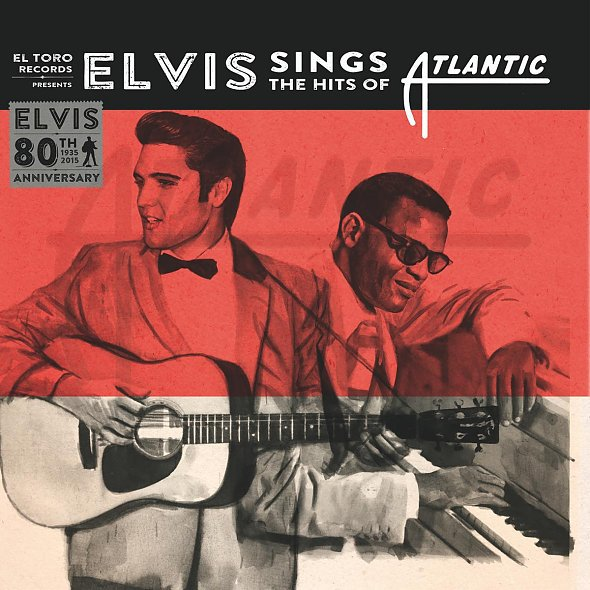 ELVIS PRESLEY, sings the hits of atlantic cover