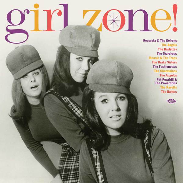 Cover V/A, girl zone!