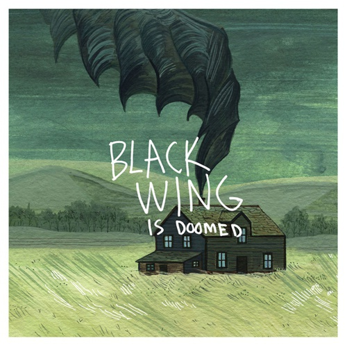 BLACK WING, ...is doomed cover