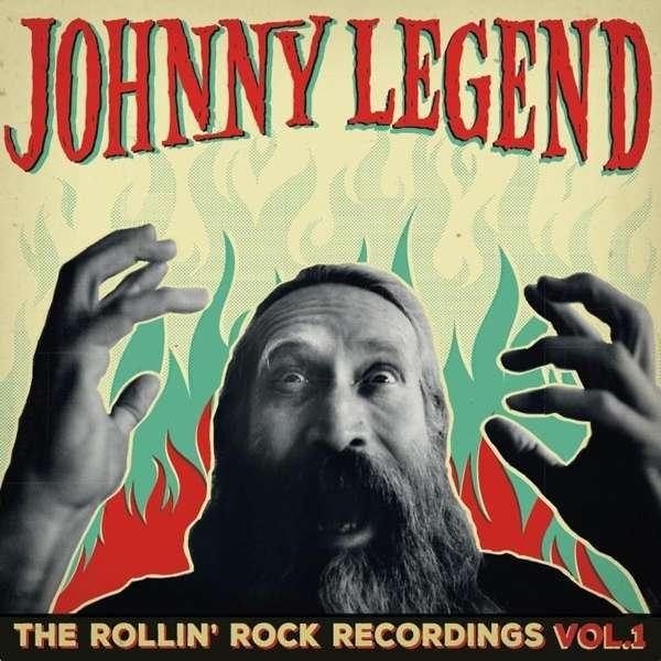 Cover JOHNNY LEGEND, the rollin´rock recordings