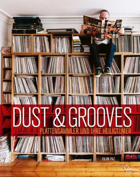 EILON PAZ, dust & grooves cover