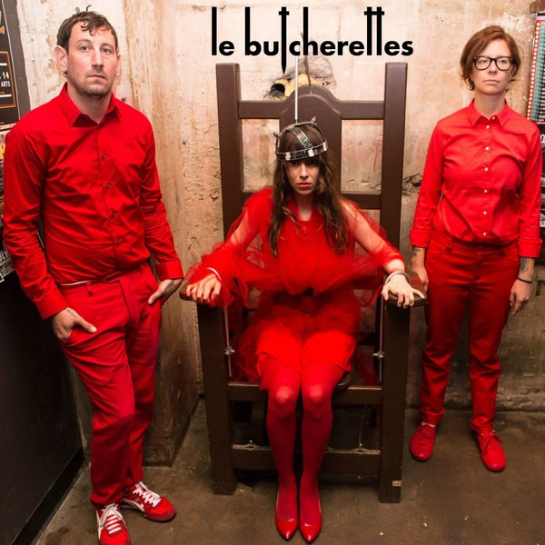 Cover LE BUTCHERETTES, shave the pride