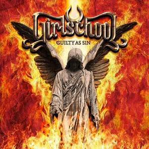 GIRLSCHOOL, guilty as sin cover