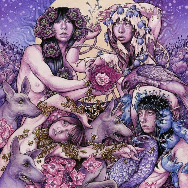 BARONESS, purple cover