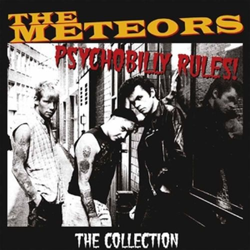 Cover METEORS, psychobilly rules - the collection