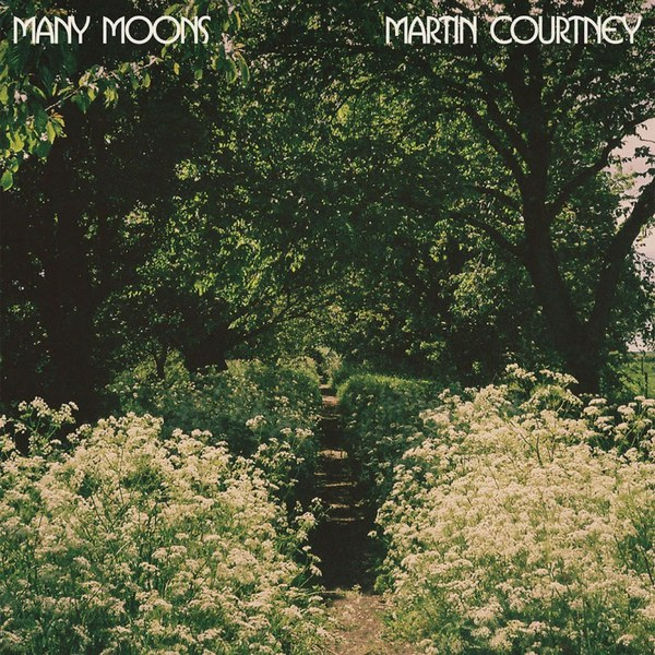 Cover MARTIN COURTNEY, many moons