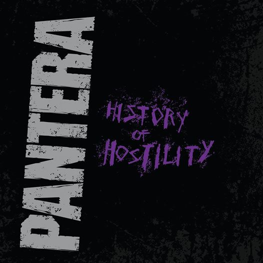 Cover PANTERA, history of hostility
