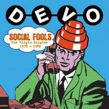 Cover DEVO, virgin singles 1978-1982