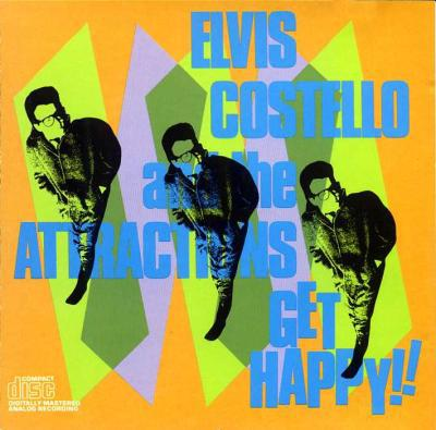 ELVIS COSTELLO, get happy!! cover