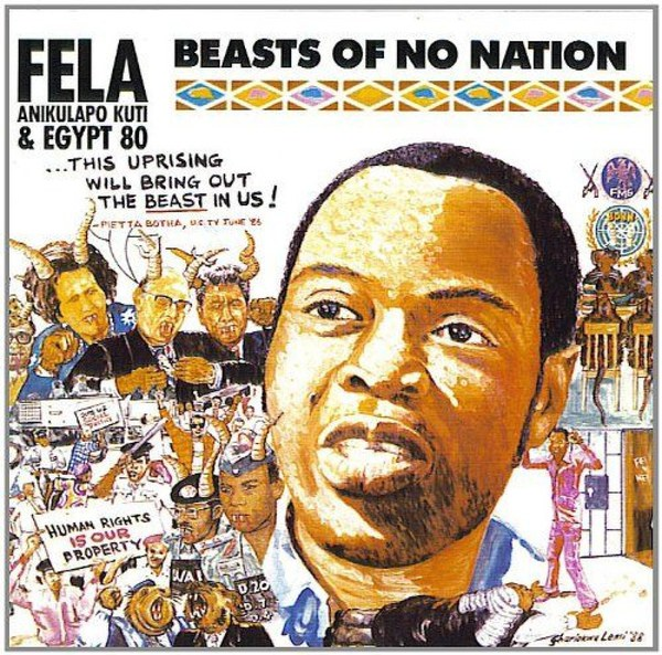 Cover FELA KUTI, beasts of no nation