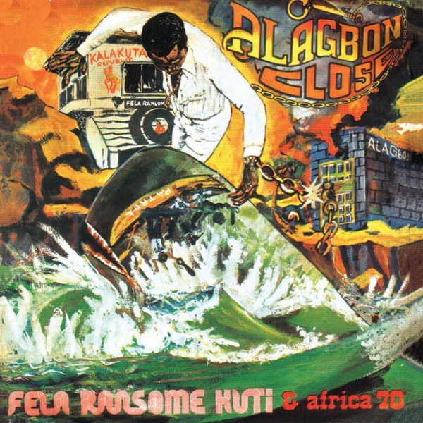Cover FELA KUTI, alagbon close