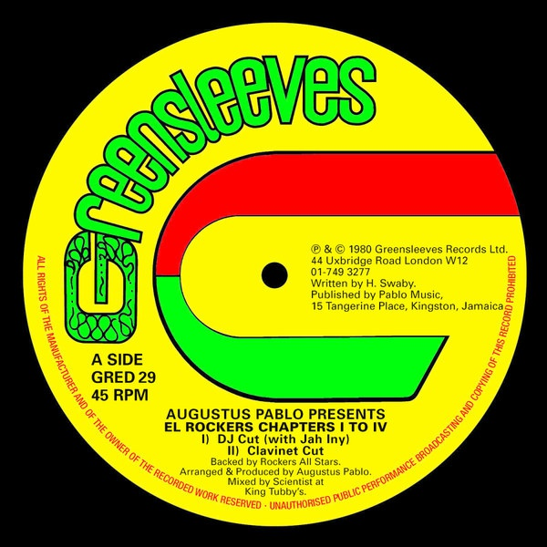 Cover AUGUSTUS PABLO, pres, el rockers chapter I to IV