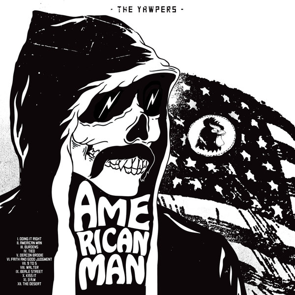 YAWPERS, american man cover