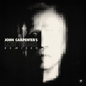 Cover JOHN CARPENTER, lost themes remixed