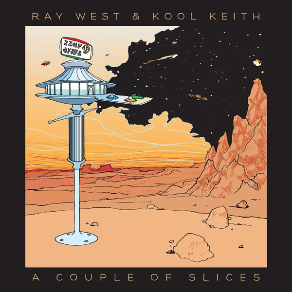 Cover RAY WEST & KOOL KEITH, a couple of slices