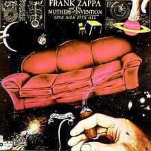 Cover FRANK ZAPPA & MOTHERS OF INVENTION, one size fits all