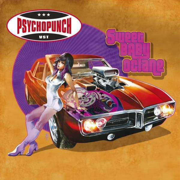 Cover PSYCHOPUNCH, sweet baby octane