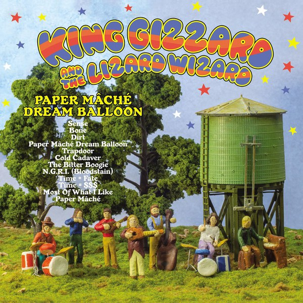 Cover KING GIZZARD & THE LIZARD WIZARD, paper maché dream balloon