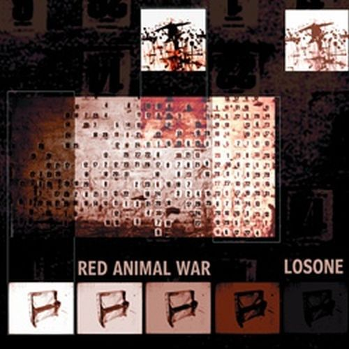 RED ANIMAL WAR / LOSONE, split cover